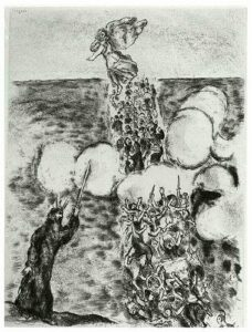 Marc Chagall: Crossing of Red Sea