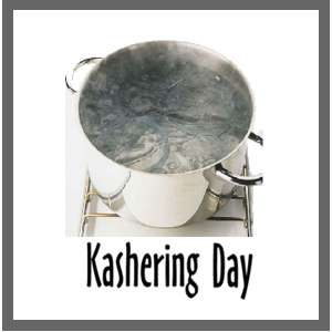 Kashering Day - April 1