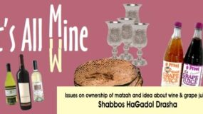 Shabbos HaGadol Drasha