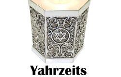 Yahrzeits – 1 Iyar