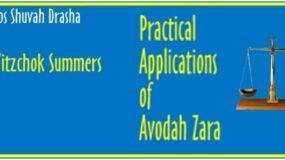 Shabbos Shuvah Drasha – Practical Applications of Avodah Zara