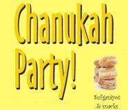 Chanukah Party – December 25 1-3pm