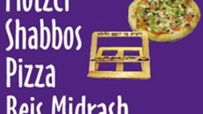 Time Change for Motzei Shabbos Pizza Beis Midrash – 7:15pm for January and 7:30pm for February