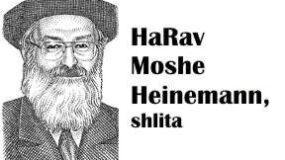 HaRav Heinemann – The Pesach Kitchen in the Hi-Tech Era – Monday March 19 – 7:30pm