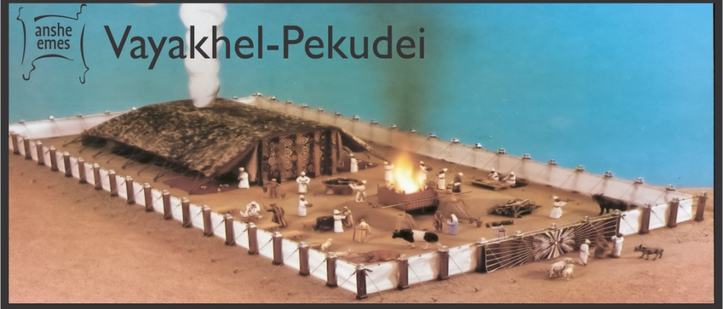 Weekly Parsha: Pekudei