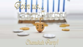 Chanukah Party – Sunday December 1 – 1pm-3pm