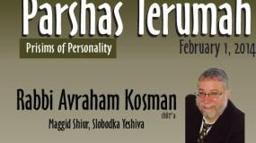 Rabbi Avraham Kosman of Slobodka Yeshiva – Shabbos Terumah