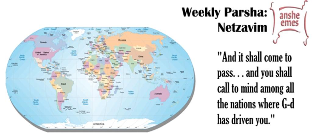Weekly Parsha: Netzavim