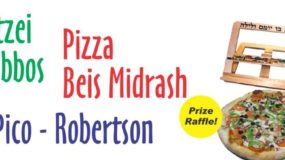 Motzei Shabbos Pizza Beis Midrash Returns – 7:30pm!