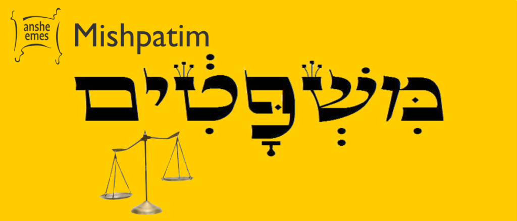 Weekly Parsha: Mishpatim