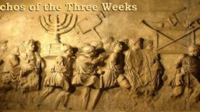 Outline of the Halachos for the Three Weeks